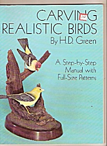 Carving Realistic birds - copyright 1977 (Image1)