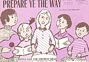 Prepare ye the way =-  copyright 1974 (Image1)