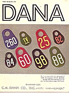 Dana Co. catalog for 1960 # 98 (Image1)