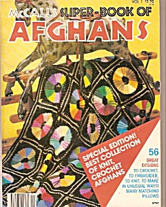 McCall's super book of AFGHANS  -   1978 (Image1)