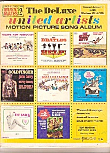 The Deluxe United Artosts  motion picture song album - (Image1)