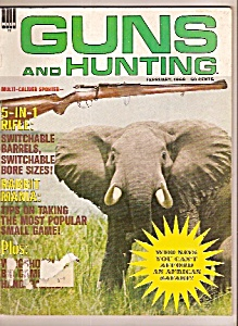 Guns And Hunting - February 1969
