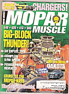 Mopar muscle -August 1998 (Image1)