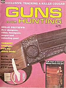 Guns and Hunting - April 1969 (Image1)