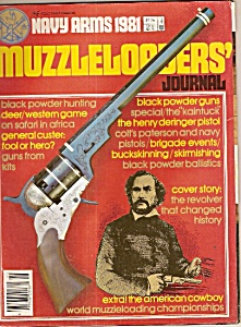 Muzzleloaders' journal -  1981 (Image1)