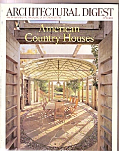 Architectural Digest - June 2002
