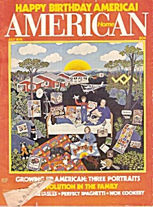 American Home - July 1976