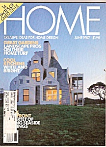 Home Magazine- June 1987