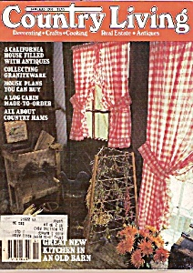 Country Living -  January 1983 (Image1)