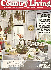 Country Living -  August 1984 (Image1)