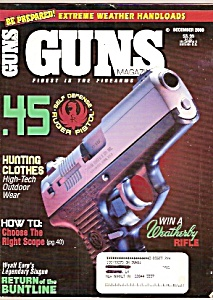 Guns Magazine-  December 2000 (Image1)