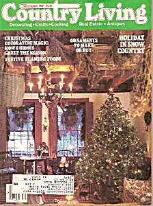 Country Living - December 1986 (Image1)
