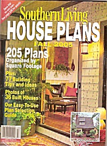 Southern Living house plans -  Fall 2005 (Image1)