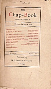 The Chap Book - May 1, 1896 (Image1)