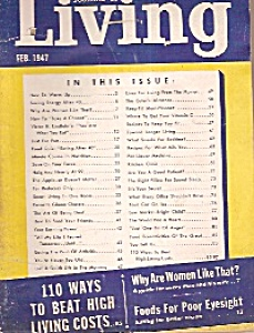 Journal Of Living - February 1947