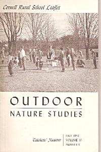 Outdoor Nature Studies - Fall 1953