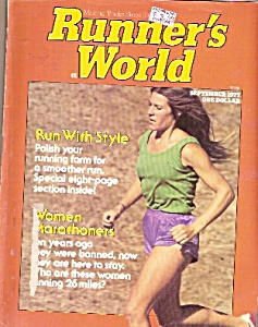 Runner;s World - September 1977