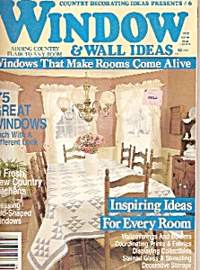 Windows and Wall ideas -  1989 (Image1)