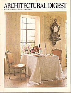 Architectural Digest - February 1986
