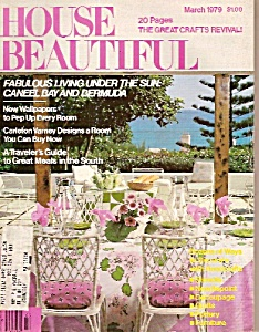 House Beautiful - March 1979