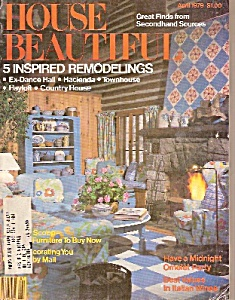 House Beautiful -  April 1979 (Image1)
