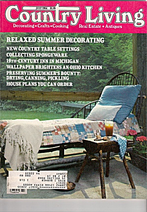 Country Living Magazine- July 1984