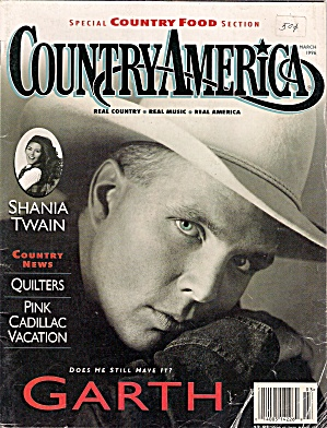 COUNTRY AMERICA  - March 1996 (Image1)
