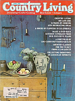 Country Living magazine -  April 1982 (Image1)