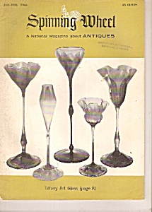 Spinning wheel antiques -  Jan - Feb. 1966 (Image1)