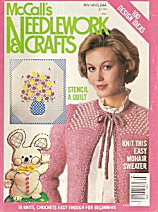 Mccall's Needlework & Crafts - Mar/april 1984