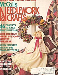 Mccall's Needlework & Crafts - October 1989
