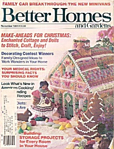 Better Homes and Gardens -  November 1984 (Image1)