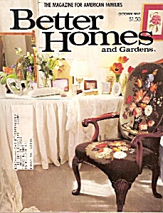 Better Homes And Gardens - October 1987