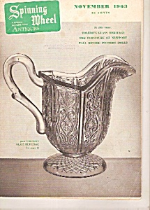 Spinning wheel antiques -  November 1963 (Image1)