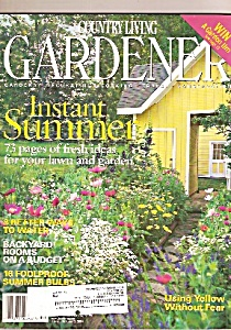 Country Living Gardener - Summer 2004
