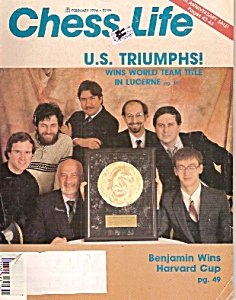 Chess Life  magazie-  February 1994 (Image1)