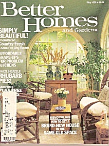 Better Homes And Gardens-may 1985