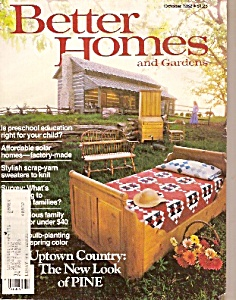 Better Homes and Gardens - October 1982 (Image1)