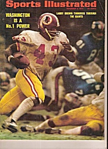 Sports Illustrated -  November 6, 1972 (Image1)