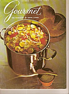 Gourmet Magazine- November 1970