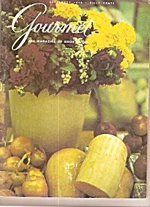 Gourmet Magazine-  September 1970 (Image1)