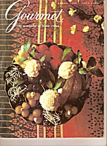 Gourmet Magazine-  August 1970 (Image1)