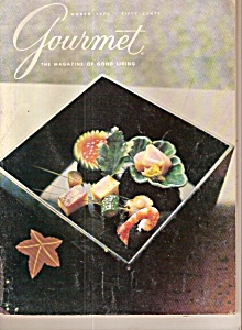 Gourmet Magazine - March 1970