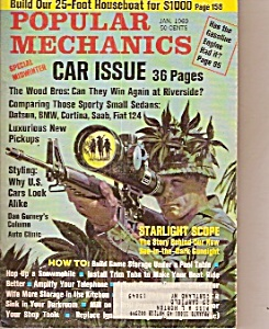 Popular Mechanics - Jan. 1969