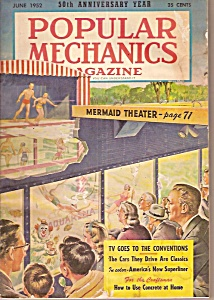 Popular Mechanics Magazine - June 1952