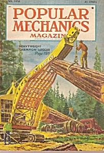 Popular Mechanics -  April 1950 (Image1)