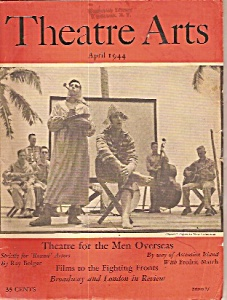 Theatre Arts Magazine - April 1944 Bolger - March (Image1)