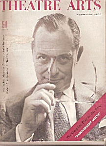 Theatre Arts magazine-  February 1955 GEORGE MONTGOMERY (Image1)
