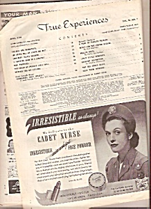 True Experiences magazine- April 1944 (Image1)