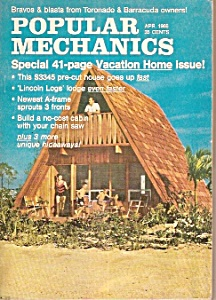 Popular Mechanics -  April 1966 (Image1)